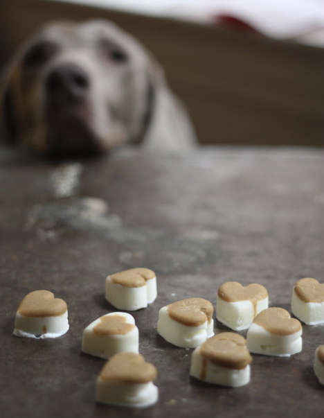 Sentimental Canine Snacks - These DIY Frozen Dog Treats are Made from Natural Ingredients