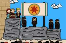 Remember Those Who Died on Game of Thrones with These 8-bit GIFs