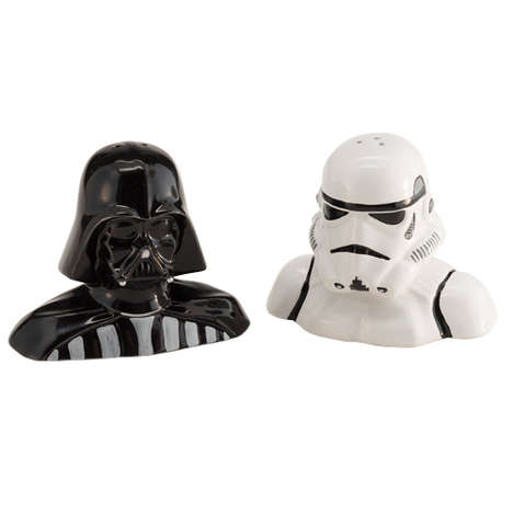 Evil Galctic Empire Shakers - This Star Wars Salt and Pepper Shaker Adds Geeky Flair to Your Table