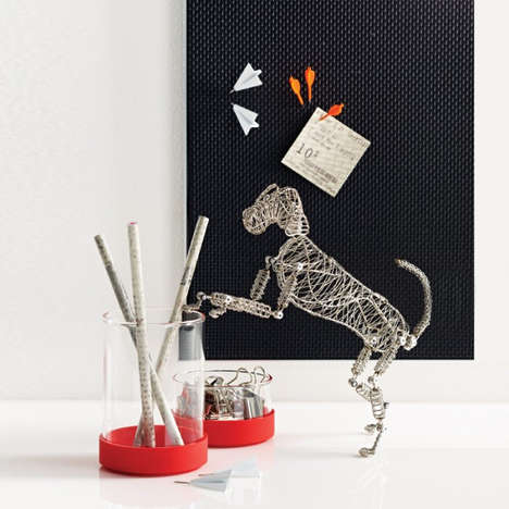 Steel Canine Desk Toys - Rover the Doodles Dog is the Only Pal You Need