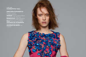 Benjamin Kanarek Shot Chantal Stafford-Abbott for Elle Mexico March 2014