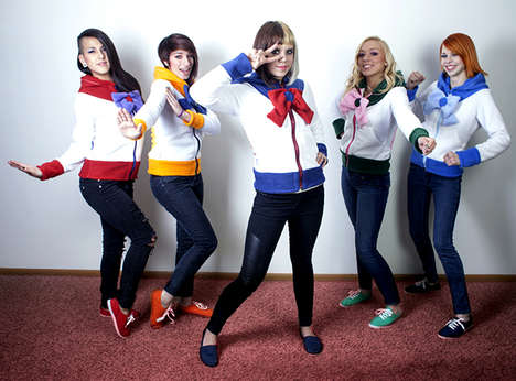 Stylish Anime Hero Hoodies - This Sailor Moon Line from Rarity