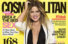 Khloe Kardashian Wows on the Cover of Cosmopolitan April 2014