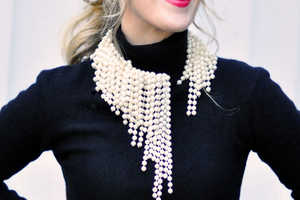 These DIY Asymmetrical Pearls are Perfect for Crafty Fashionistas