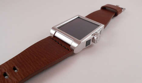 Solar Energy Smartphone Watches - This Solar Energy Harvesting Watch Keeps You Topped Up on the Go