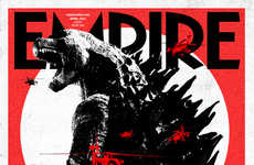Empire Magazine Shows off Its New Godzilla Cover
