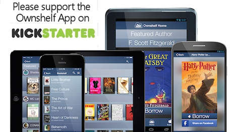 Social Literature Sharing Apps - Share and Borrow Books with the Ownshelf App
