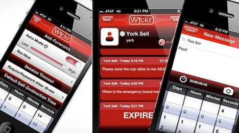 Self-Destructing Messaging Apps - The Wickr App Offers Privacy and Control