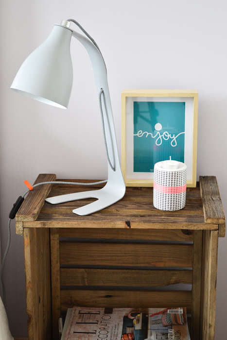 Crafty Crate Stands - This DIY Nightstand is a Great Way to Add a Rustic Touch to Your Bedroom