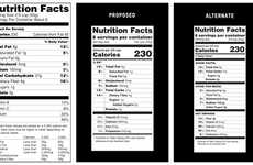 Realistic Revamped Food Labels