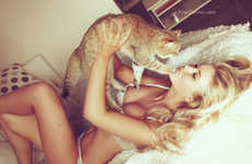 Seductive Kitten Photoshoots - Maria & Cat by Alisa Verner Takes Sensuality to a Cute Level