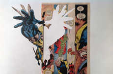 Dissected Pop Comic Artwork