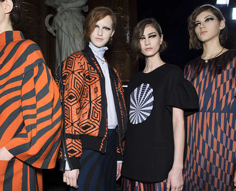 Pattern-Enriched Luxury Apparel