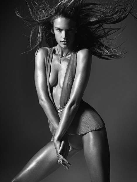 Stunning Statuesque Model Shoots - The 'Perfect Ten' Editorial in the W Magazine March Issue is Epic