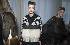 Modernized 50s Fashions - This Antonio Marras Fall Collection is Luxe and Retro-Themed