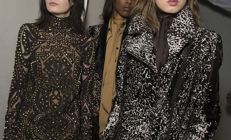 Savage Chic Sartorials - The Emilio Pucci Fall 2014 Collection is Savage Chic