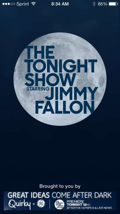 Celebrity Host-Tracking Apps - The Tonight Show Jimmy Fallon App Ensures You're Always in the