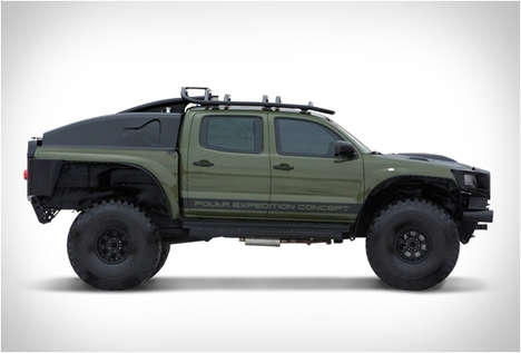 Adventure-Built Concept Trucks - This Epic Toyota Truck is Daring, Fast and Can be All Yours