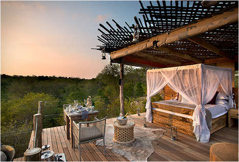 Enchanting African Treehouse Havens - This Game Reserve Lodge in South Africa is Whimsical and Sweet