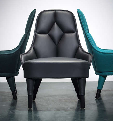 Modernly Upholstered Seating - The Emma Chair by FARG & BLANCHE Has an Old World Charm