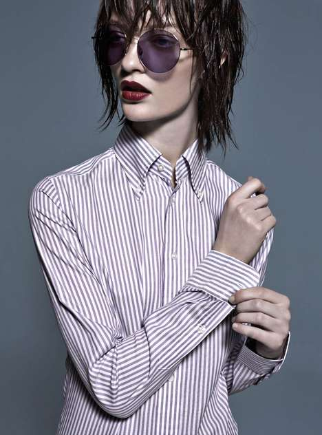 Androgynous Rocker Editorials - The Fashion gone Rogue