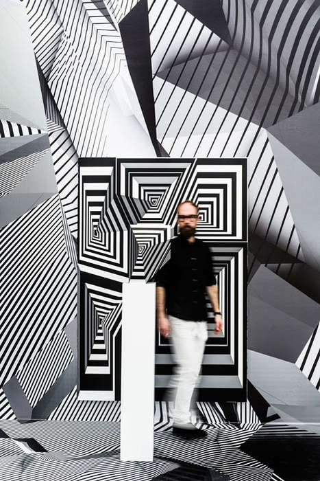 Whimsical Illusion Exhibitions - Rehberger's Exhibition Features Optical Illusory Sculptures
