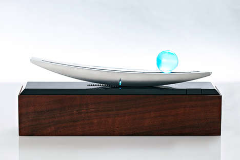 Hi-Tech Harmony Gauges - The Seesaw Monitor Serves as an Abstract Scale to Display Your Life Balance
