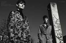 Busily-Printed Menswear Editorials