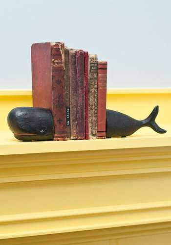 Deep Sea Leviathan Bookends - Chart Your Reading with the Start to Fin Bookends
