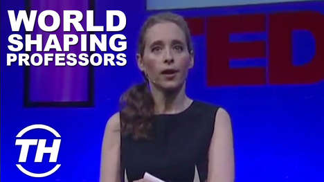 World-Shaping Professors - Noreena Hertz is a Leading-Edge Lady with Hopes of Changing the World