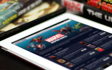 Comic Book Archive Apps - The Marvel Unlimited iOS App Includes Classic and New Comics