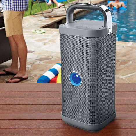 Carousal Catering Sound Systems - The Big Blue Party Speaker Boasts Blasting Portability