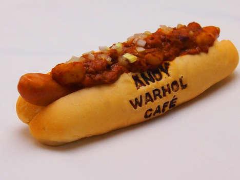 Artist-Imprinted Meals - The Andy Warhol Cafe Serves Delicious and Asthitically Pleasing Food