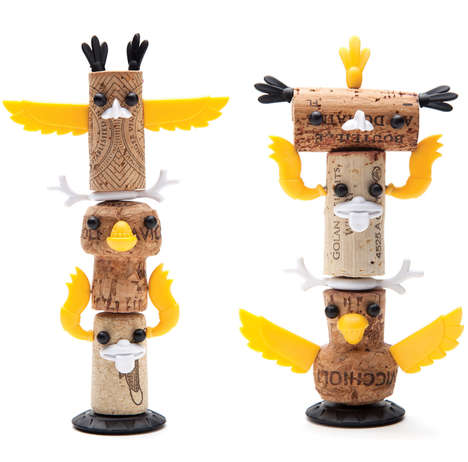 Corked Totem Crafts - The Monkey Business