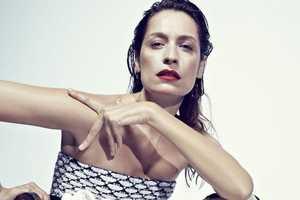 Model Caroline de Maigret Stars in This Striking Lurve Magazine Editorial