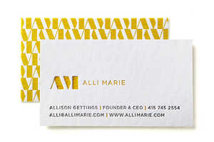 Alli Marie's New Identity is Subtle, Chic and a Litte Retro