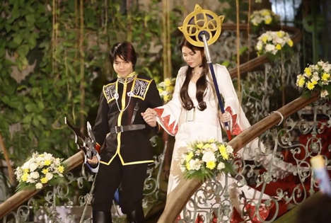 Cosplay Video Game Weddings - This Final Fantasy Wedding Makes Gaming the Focal Point