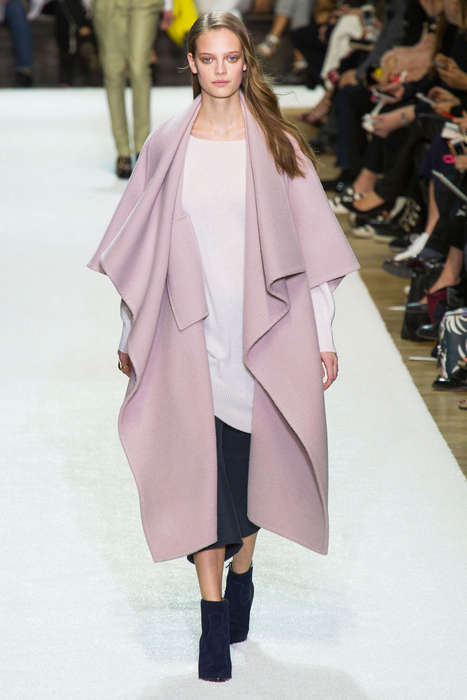 Preppy Pastel Collections - The Chloe Fall 2014 Styles are Ultra Feminine and Fun