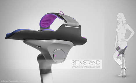 Mobile Seating Recovery Devices - Sit and Stand Provides Users with an Innovative Recovery System