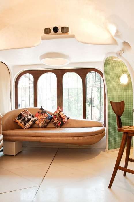 Arched Cave-Like Abodes - This Unconventional Home in Mumbai is Like an Organic Living Oasis
