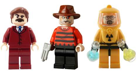 43 Pop Culture LEGO Sets - From Meth Lab Building Block Sets to Fantasy Toy Block Figurines