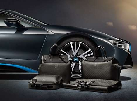 Luxe Auto-Matching Handbags - The Louis Vuitton/BMW Collab Makes Drivers Fashionably Coordinated