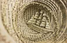 50 Astonishing Book Art Projects