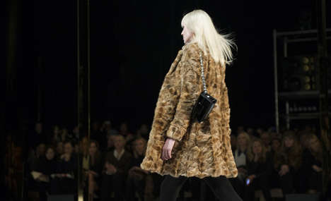 Fall Go-Go Getups - The Saint Laurent Fall 2014 Collection Takes a Hint From Vintage Flair