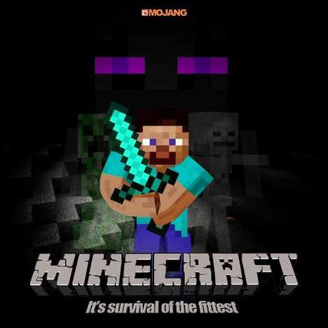 Pixelated Gaming Motion Pictures - Block-like Video Game Minecraft is Set to be a Blockbuster