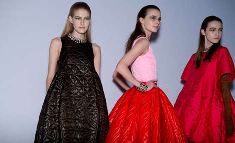 Businesswoman Runway Wardrobes - The Christian Dior Fall 2014 Collection Dresses for Success