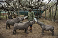 Compassionate Anti-Poaching Communities - Photographer Documents Illegal Poaching Efforts in Kenya