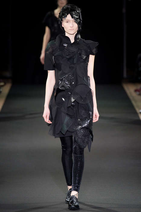 Circle Construction Collections - The Junya Watanabe Fall 2014 Collection is a Parisian Buzz Topic