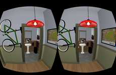 3D Sitcom Simulators - Jerry's Place Uses the Oculus Rift to Recreate Seinfeld's Apartment