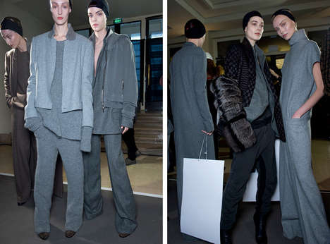 Precise Python Apparels - The Haider Ackermann Fall 2014 Collection is Cozy and Sophisticated